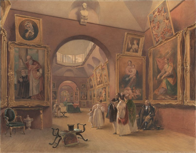 Viewing at Dulwich Picture Gallery