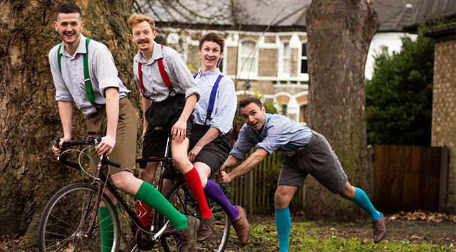 Much Ado About Nothing with the HandleBards
