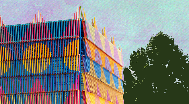 Dulwich Pavilion returns with 'The Colour Palace' and announces its summer line-up of events