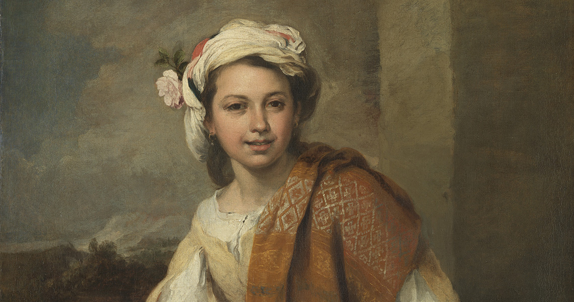 'The Flower Girl', 1665–70, Bartolomé Esteban Murillo