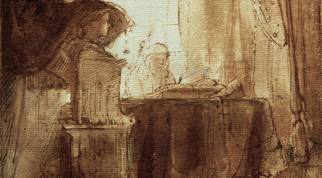 Drawings by Rembrandt to travel outside of the Netherlands for first time for Dulwich Picture Gallery exhibition