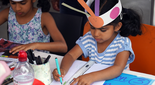 Art Camp: Heads, Bodies and Legs (6-9 years) (Postponed)