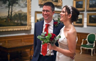 Saying 'I do' at Dulwich Picture Gallery