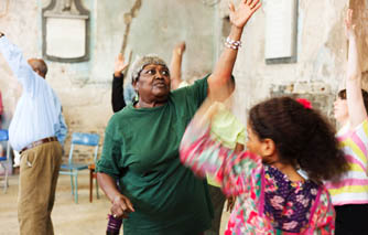 Watch Dulwich's intergenerational dance project come to life