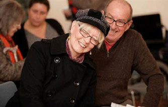 Carer discovers passion for poetry and sufferer delights in singing in dementia project at Dulwich Picture Gallery