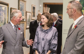 HRH The Prince of Wales visits Dulwich Picture Gallery