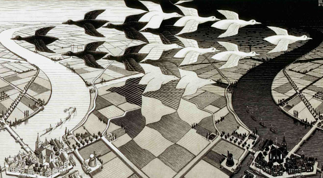 Dulwich reveals M. C. Escher's supreme skill as fine artist in first UK retrospective