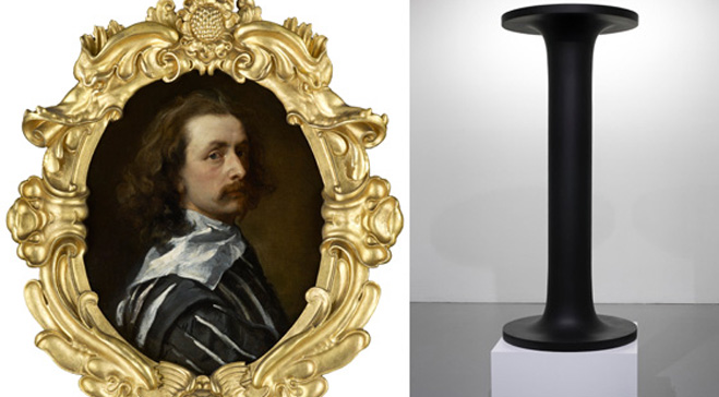 Anthony van Dyck meets Mark Wallinger in striking new display at Dulwich