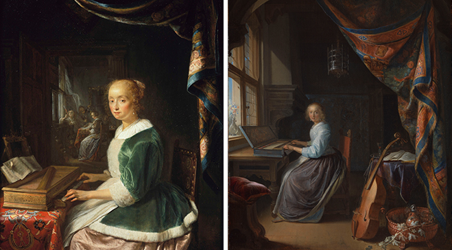 Dou's musical paintings reunited after nearly four centuries apart