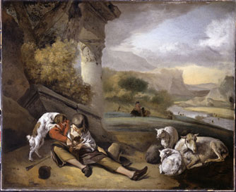 Landscape with Shepherd Boy