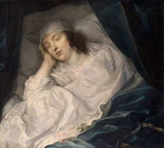 Venetia, Lady Digby, on her Deathbed