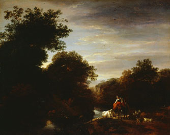 Peasants at a Ford