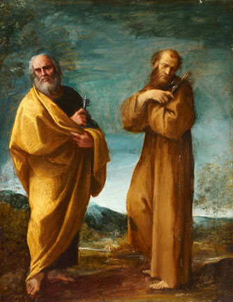 Saints Peter and Francis of Assisi