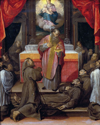 The Last Communion of Saint Francis