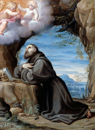 Saint Francis in Meditation