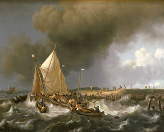 Boats in a Storm