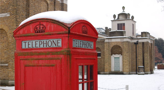 Phonebox In The Grounds _medium Image