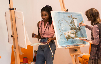 Young artists learn new skills in free NADFAS Masterclass at Dulwich Picture Gallery