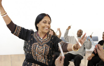 Dulwich shows the positive impact of dance and art through intergenerational project as part of London's Creativity and Wellbeing Week 2013