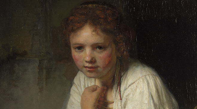 Rembrant Girl At A Window _MAILCHIMP
