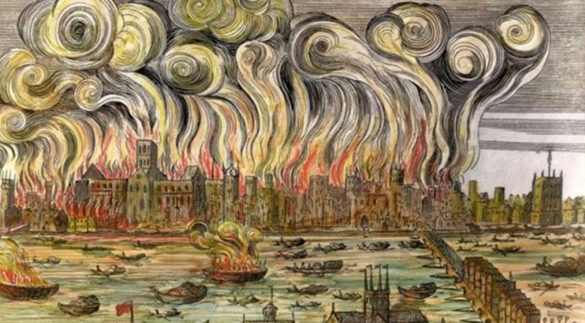 The Great Fire of London Walk