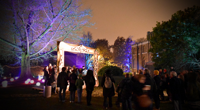 Christmas 2016: Winter lights spectacle and festive market set to transform Dulwich Picture Gallery