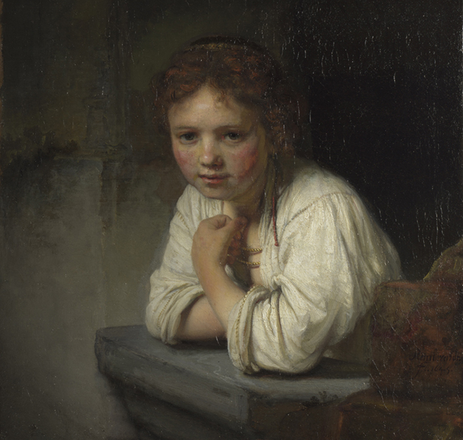 Rembrandt S Painting Of A Woman