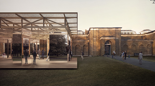 IF_DO win first Dulwich Pavilion design competition