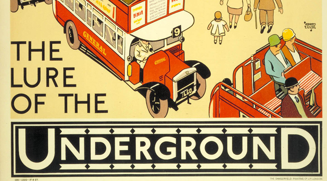 London Transport Museum – Art & Poster Store, Acton