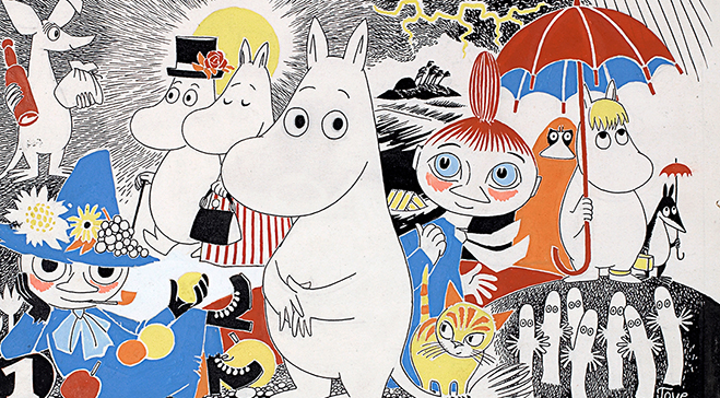 A Moomin Winter's Day