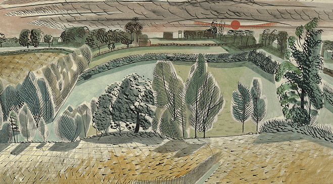 Edward Bawden exhibition opens May 2018