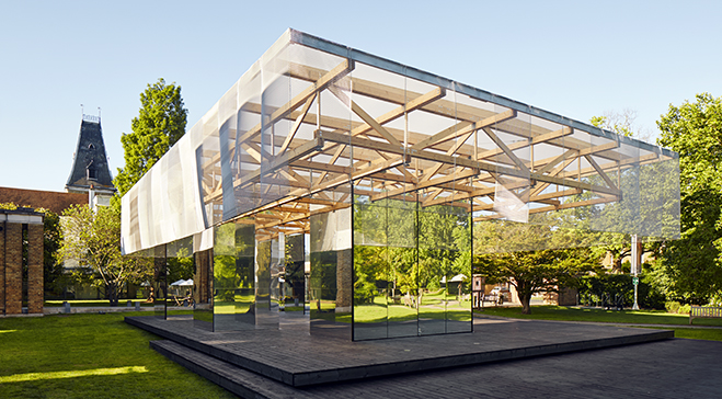 IF_DO's design for Dulwich Pavilion nominated for AJ Architecture Award