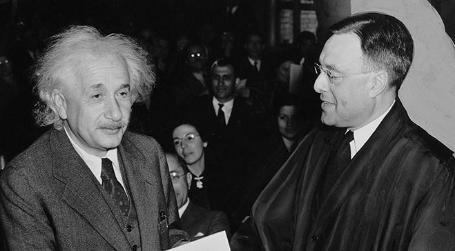 Contextual Lecture: How Einstein Made Our Future Less Frightening