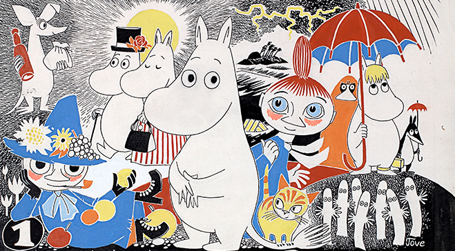 A Moomin Guide to Life: the most inspirational quotes from Tove Jansson's stories