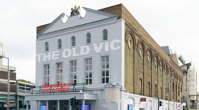 Old Vic backstage tour