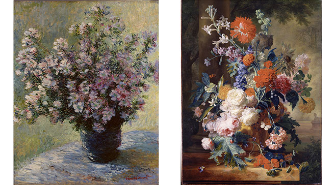 Monet's 'Vase with Flowers' at Dulwich Picture Gallery