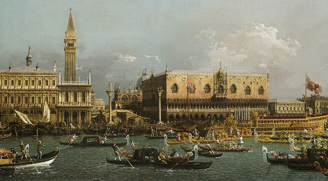 From the Collection: Canaletto and the Marriage of the Sea